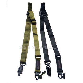MS2 tactical outdoor Multi-Mission Rifle gun sling Gun Strap System Mount Set Suitable of safety rope Shooting