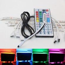USB Powered RGB Colour Change 5050 LED Strip ribbon tape lamp Computer TV USB Backlight Light Kit Screen TV LCD Desktop PC DC5V