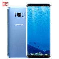 Unlocked Original Samsung Galaxy S8 G950U snapdragon/G950F Exynos 4GB RAM 64GB ROM 6.2 Octa Core Android Fingerprint 12MP Phone