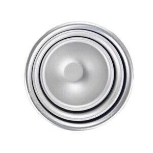 Image 5 - 6 個ラウンドアルミ合金バス爆弾金型 DIY ツールバス爆弾塩ボール自家製クラフトギフト半円球メタル金型