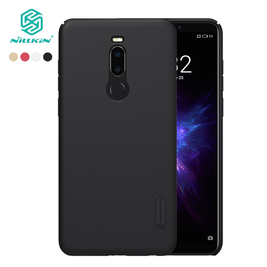 For Meizu Note 8 Case Nillkin Frosted Shield Hard Back Cover Matte Case For Meizu Note 8 Bumper Gift Holder