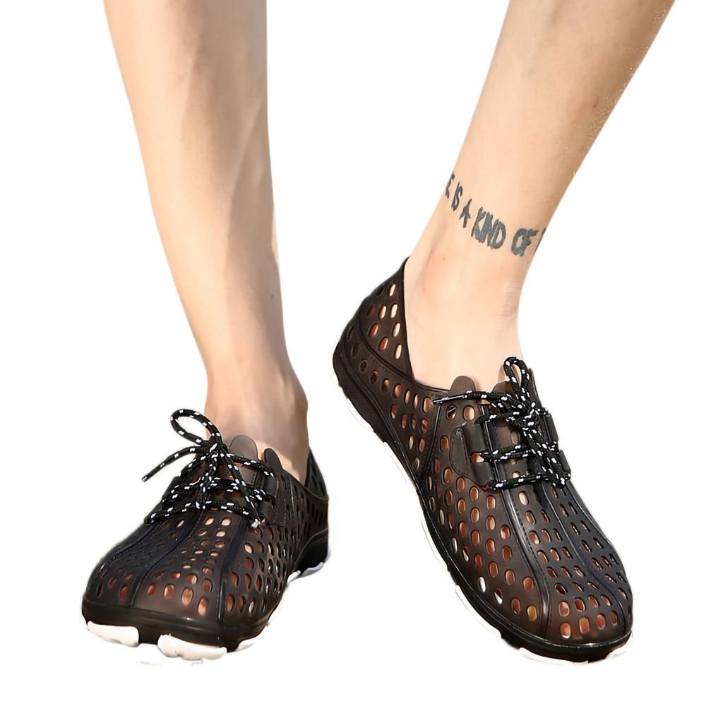 Shoes Helpful Muqgew Hollow Hole Sandal For Men Fashion Breathable Casual Trend Set Of Feet Cool Flats Sandal Men Shoes Chaussures Femme Men's Shoes