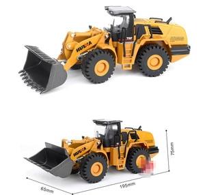 Image 5 - ハイシミュレーション合金エンジニアリング車両モデル、1: 50ローダーシャベルトラックおもちゃ、金属鋳物、おもちゃの車、送料無料