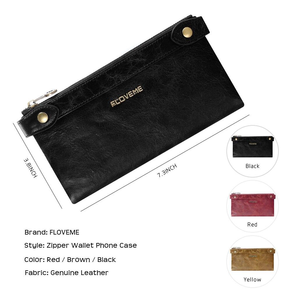 İPhone X 8 üçün FLOVEME Çanta telefon çantası, Samsung Galaxy - Cib telefonu aksesuarları və hissələri - Fotoqrafiya 5