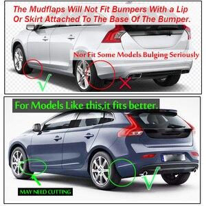 Image 5 - 4 Đa Năng Chắn Bùn Mudflaps Bắn Vệ Binh Mudguards Trước Sau Cho Volvo C30 S40 S60 S70 S80 V40 V50 v60 V70 XC70 XC90