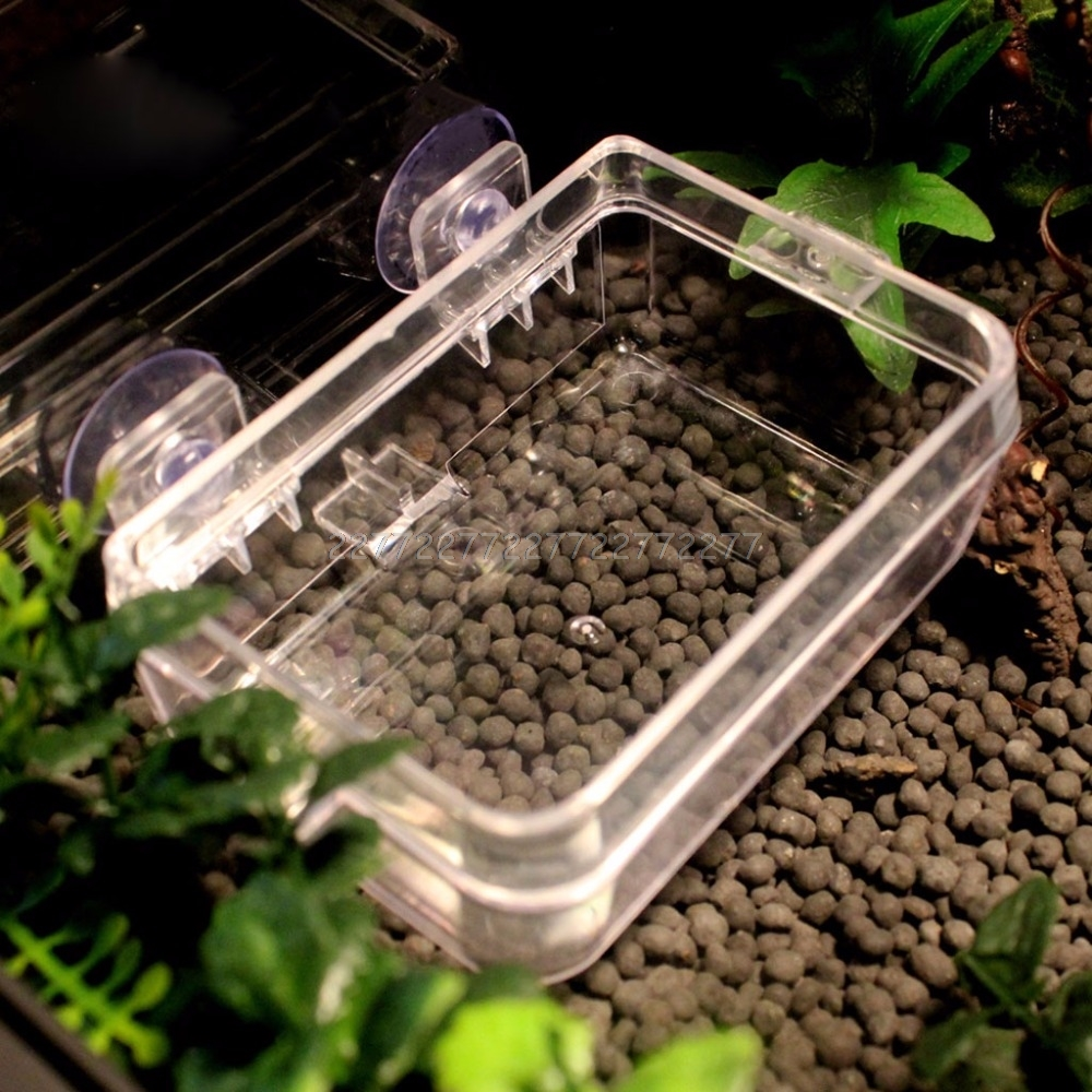 Reptile Feeder Anti-escape Food Bowl Turtle Lizard Worm Live Food Container J09 19 Dropship