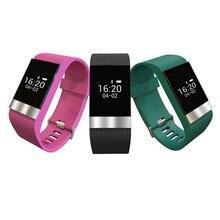 R2 Bluetooth4.0 Смарт часы браслет сердечного ритма Мониторы Спорт Фитнес трекер браслет с анти-потерянный функция