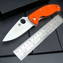 New Arrival C122 Folding Knife 8CR13MOV Blade G10 Handle Tactical Hunting Camping Survival Pocket Knife Outdoor EDC Tools