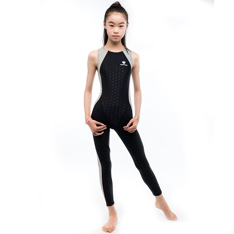Girls Swimming Swimwear Quick Drying Personal Comfort Teen -3885