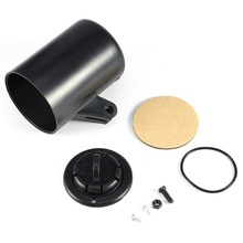 """Универсальный автомобильный Пластиковый черный цвет """" 52 мм Универсальный Автомобильный однокалибровочный держатель для подстаканника"""