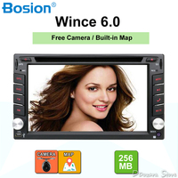 Автомобиль электронный 2din DVD мультимедийный плеер радио кассеты приемник записывающее устройство авто стерео радио GPS бесплатная географи