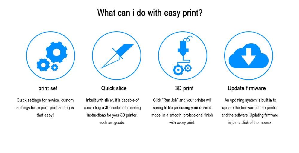 Geeetech 3D-принтер двойной головы Росток мини g2s в про Дельта автокомплектов все металлические высокое разрешение ЖК-Бесплатная Impressora