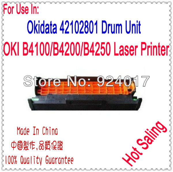 Compatible Drum Unit For OKI B4100 B4200 B4250 Printer,Use For Okidata 42102801 Drum Unit,For OKI 4100 4200 4250 Image Drum Unit for okidata c301 c321 c331 c511 c531 mc352 mc362 mc562 image drum unit for oki mc562dn mc562dnw mc562w c511dn 531dn drum unit
