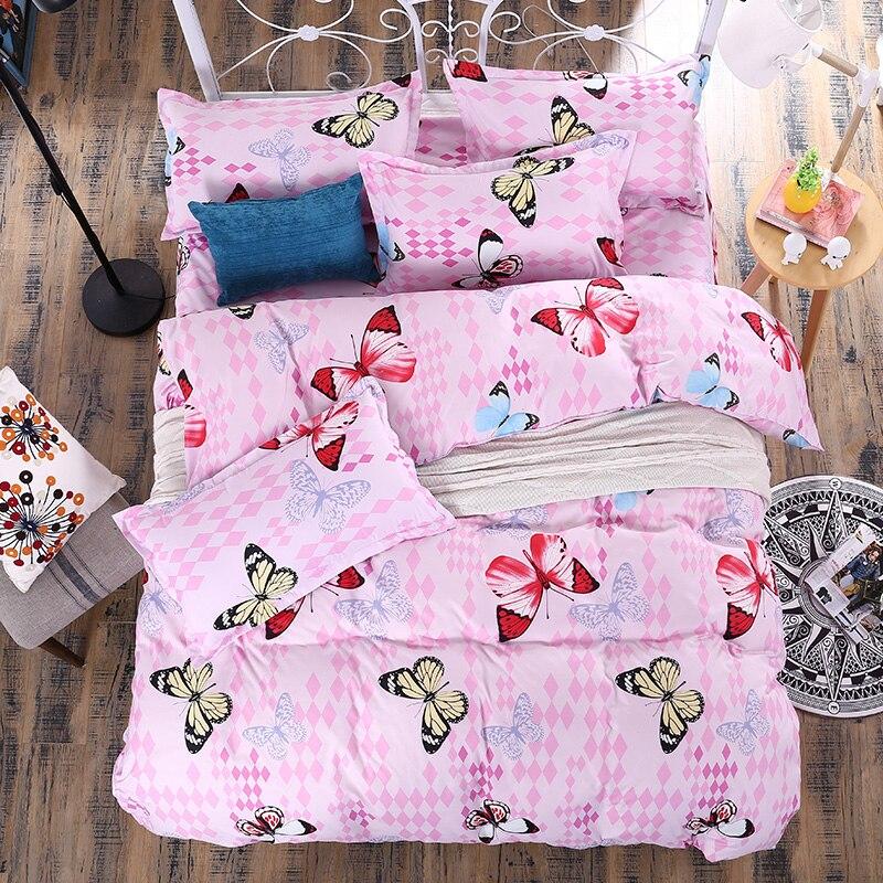 rosa schmetterling bettw sche kaufen billigrosa. Black Bedroom Furniture Sets. Home Design Ideas