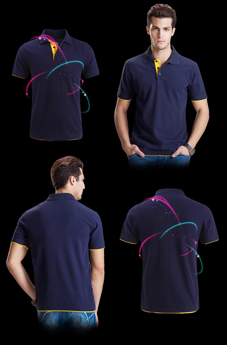 URSPORTTECH Men's Polo Shirt For Men Desiger Polos Men Cotton Short Sleeve shirt Clothes jerseys golftennis Plus Size XS- XXXL 20