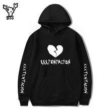 49305241 BTS Revenge Kill модные толстовки с капюшоном для мужчин/для женщин  Повседневное хип хоп XXXTentacion