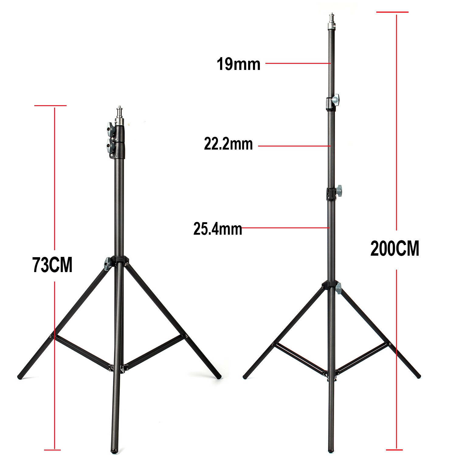 Iconnapp Champion Ultrastar Wiring Diagram 2m Light Stand Tripod With 1 4 Screw Head Bearing Weight 5kg For Studio Softbox Flash Umbrellas Reflector Lighting Flashgun Lam