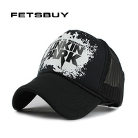 FETSBUY Baseball Cap Breathable Summer Cap With Mesh Casual Outdoor Sport Trucker Hat Adjustable Snapback Hats