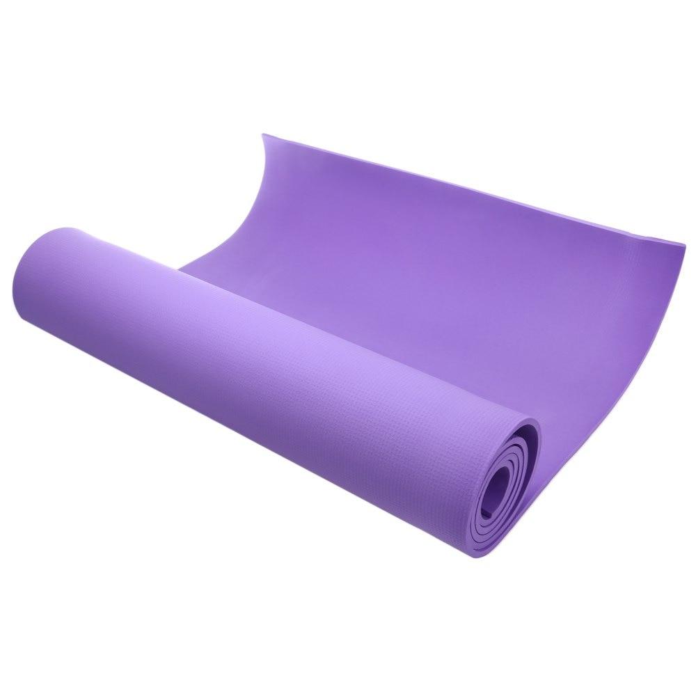 6MM Thick Non Slip EVA Yoga Mat Utility Pilates Supplies