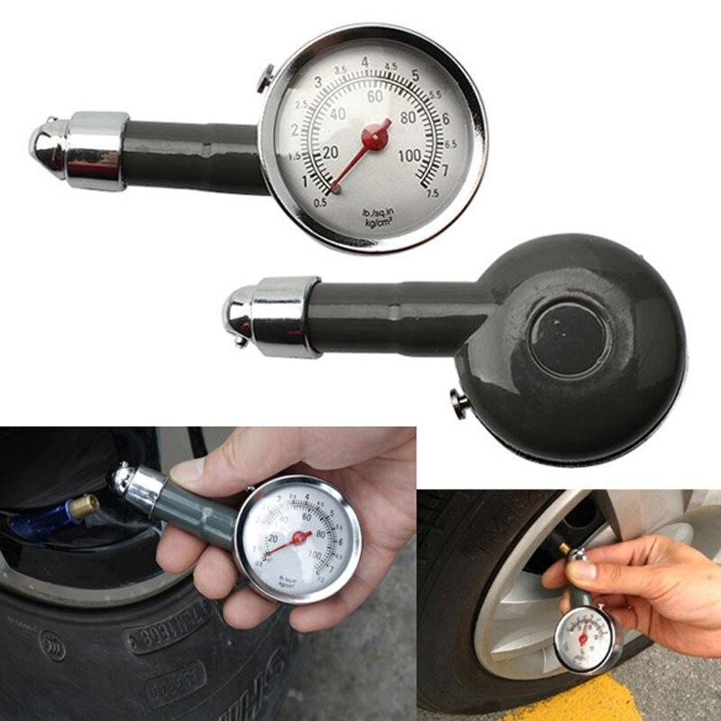 10-100PSL Voiture Pneu Air Manomètre Pression Testeurs Vide Outils De  Diagnostic Avec kg cm2 Unité Haute Qualité pour Auto camion De Voiture 0ffef101c57