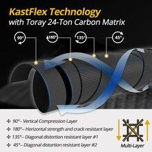 KastKing Blackhawk II Portable Carbon Telescopic Fishing Rod ML, M, MH Power 1.98m, 2.13m , 2.24m Spinning Fishing Rod