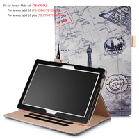 Luxury Business Case For Lenovo Moto Tab TB X704A Smart Cover 10 1 Tablet Case For