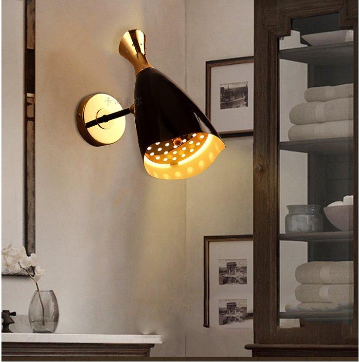 Post-modern vintage Wall lights Edison Bulb lamp modern fixtures lighting led industrial iron ...