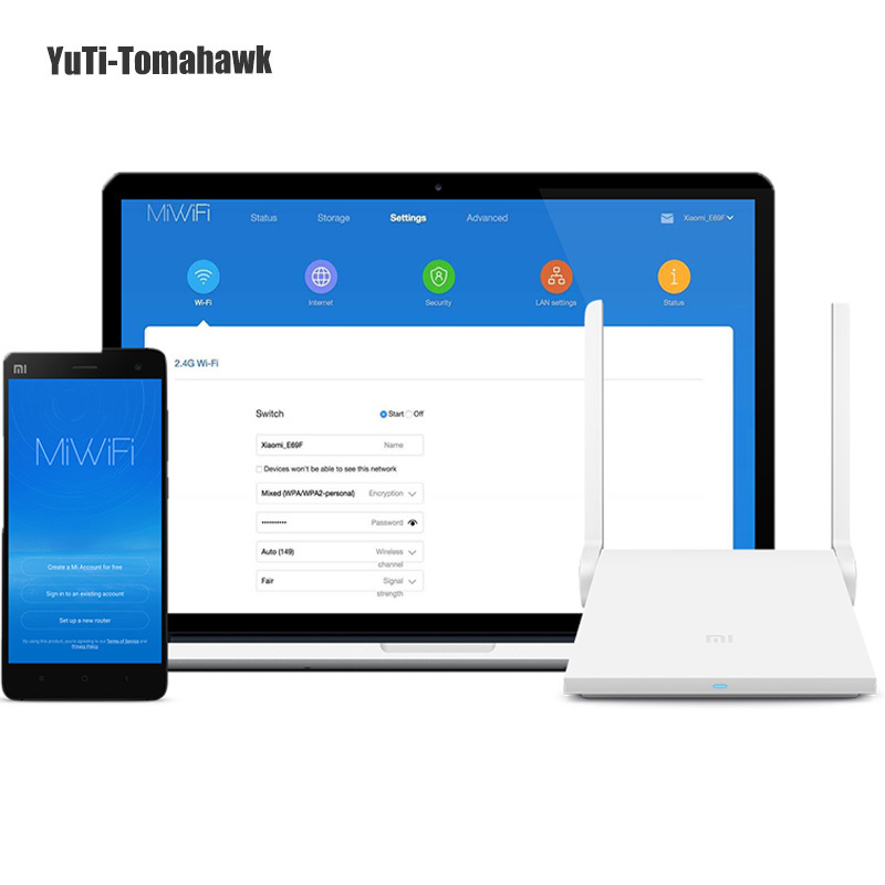 Original Xiaomi Router Mi Wifi Router Dual-band 2.4GHz/5GHz 1167Mbps Wi-Fi 802.11ac Support iOS/Android APP English Version MiNi  xiaomi mi wifi mini router high security 1167mbps dual bands