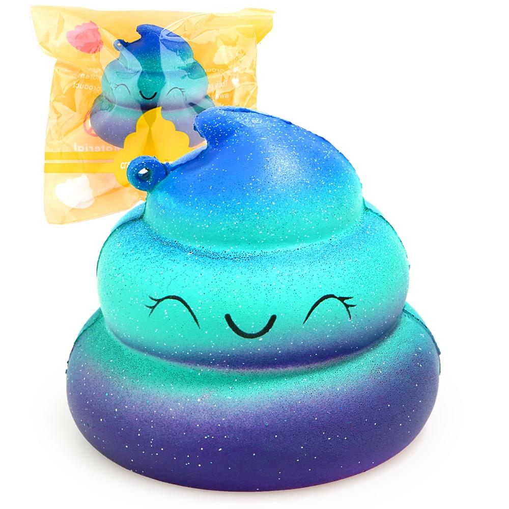 Squishy Colorful Slime Poo Slow Rising Cream Perfume Original Package - Nuevos juguetes y juegos - foto 1
