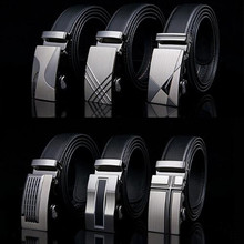 Belt 2016 Men automatic buckle brand new fashion leather belts for business men high quality luxury for man