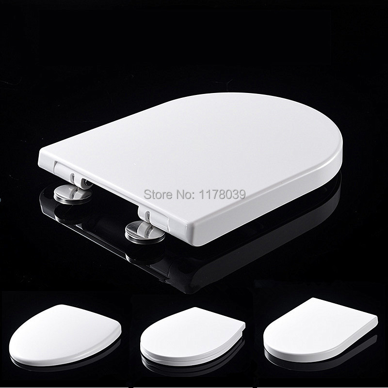 Various styles UF PP Materials Board Slow Close toilet seats lid Universal O V U Type