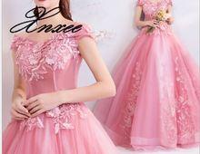 2019 ladies  flower dress noble and elegant