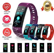 Smart Band Fitness Tracker Heart Rate Bracelet Wristband fitness activity watch  Blood Pressure Monitor fitness tracker smart wristband heart rate monitor smart band g16 activity smartwatch blood pressure ip67 bracelet vs mi band 3