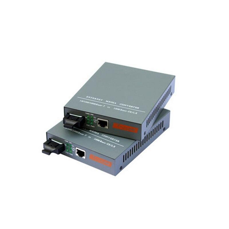 Convertisseur de média multimode RJ45, 1 paire, 1000base SC Duplex, Fiber optique, émetteur-récepteur