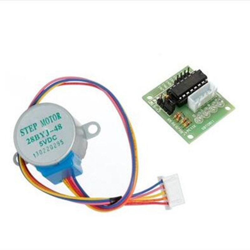 цены 5V 4-Phase Stepper Step Motor + Driver Board ULN2003 with drive Test Module Machinery Board