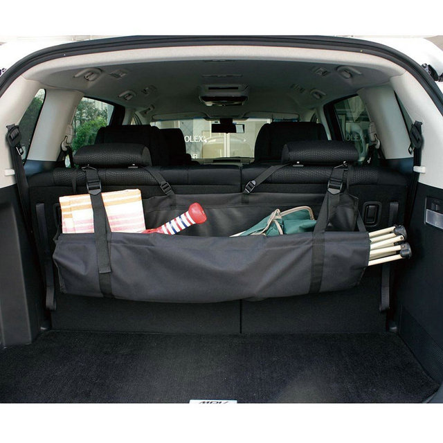 Car Truck SUV Seat Back Storage Packing Organizer Interior Multi Use Bag  Accessory Large Size