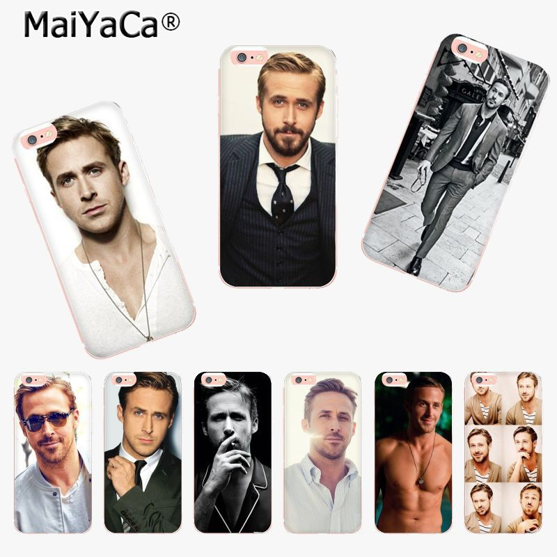MaiYaCa Ryan Gosling New Arrival Fashion phone case cover for Apple iPhone 8 7 6