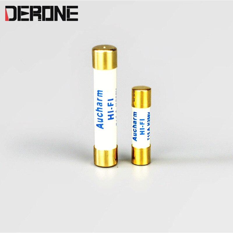 HIFI Fuse 20*5/32*6  0.5A 1A 2A 3.15A 6.3A 4A 6A 8A 10A15A Audio Grade For Amplifier Dac Preamplifier Headphone Amplifier