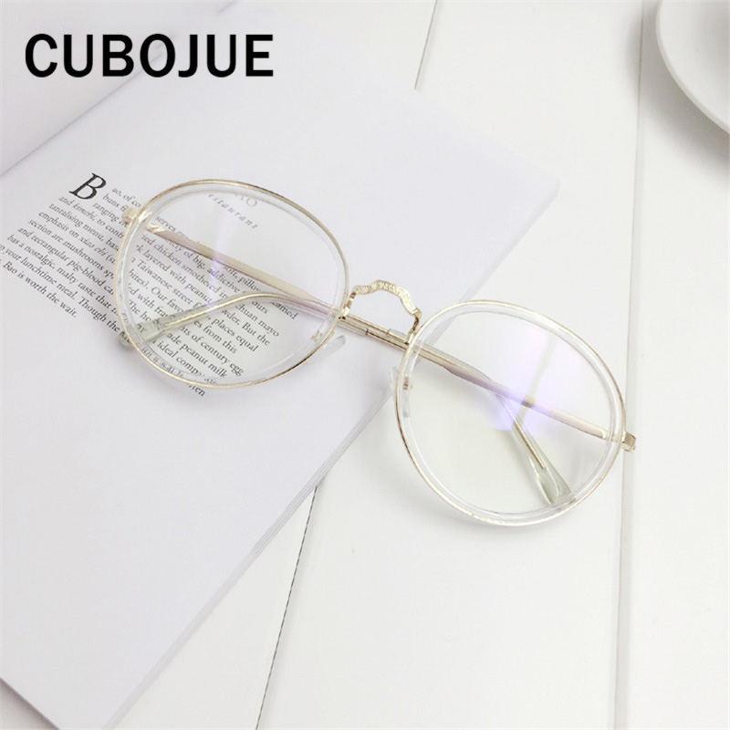 Cubojue Vintage Putaran Kacamata Pria Wanita (56mm) Transparan Retro  Steampunk Kacamata Pink Kura kura 38313ee3ac