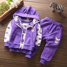 Infant Batman Cotton Warm Tracksuits Baby Boy Girl Clothing Set Children Minnie Hoodies Sweatshirts T-shirt Pant 3pcs Sport Suit