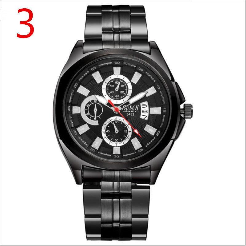 New mens business quartz watch, simple and delicate, mature manhood.New mens business quartz watch, simple and delicate, mature manhood.