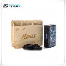 เดิมHot Cig R150กล่องสมัย150วัตต์กล่องบุหรี่อิเล็กทรอนิกส์สมัยขนาดใหญ่ไอสมัย150วัตต์Dual 18650สูงขับเคลื่อนสมัยDHLฟรี