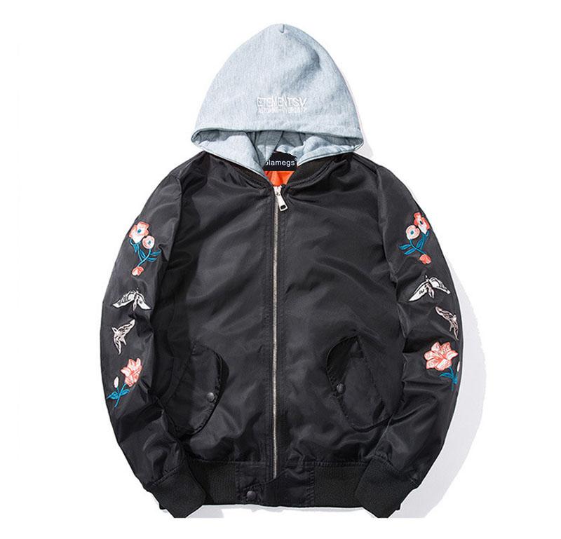 Aolamegs Bomber Jacket Japanese Embroidery Thin Men's Jacket Couple Hip Hop Fashion Outwear Autumn Men Coat Baseball Jackets New (10)