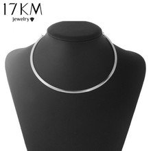 17KM Casusl Steampunk Necklace Brand Choker Necklace Maxi collares collier Vintage kolye Jewelry bijoux Necklace for Women