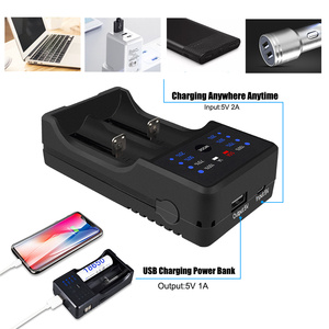 Image 4 - PALO LED USB Multi Purpose Battery Charger for 3.7V 18650 26650 16340 14500 10440 18500 1.2 V AA AAA rechargeable battery