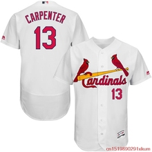 236c8cfbff4 MLB Men s St. Louis Cardinals Matt Carpenter Baseball Home White Flex Base  Authentic Collection Player