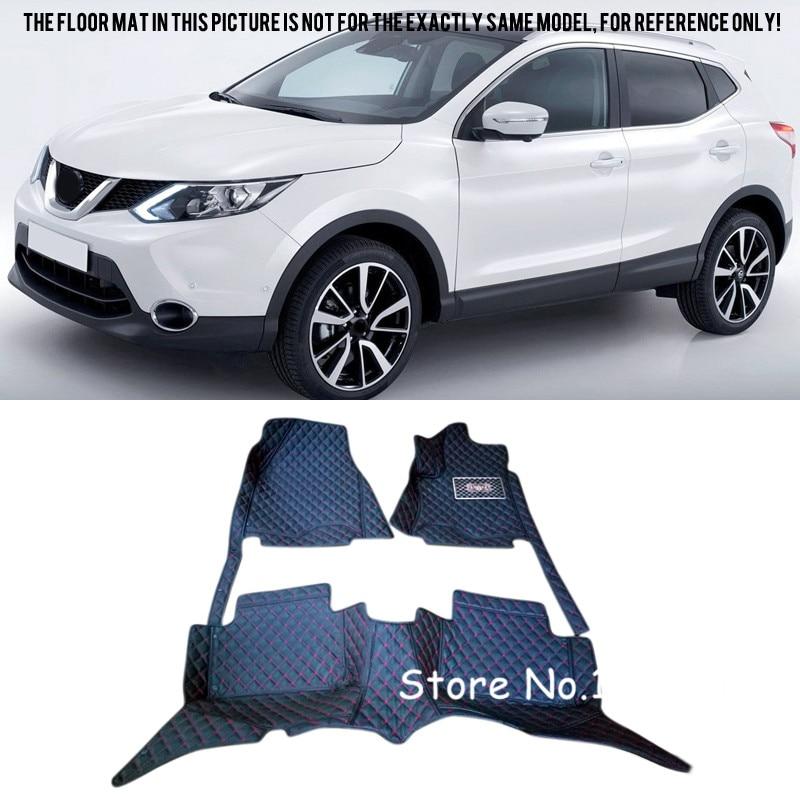 For Nissan Qashqai 2014 -2016 J11 Interior Custom Waterproof Car Styling Front & Rear Floor Mats цена