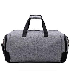 Image 5 - Heißer Mode Wasserdicht Männer Reisetasche Große Multifunktions Schulter Tasche Top Nylon Frauen Duffle Tasche Unisex Gepäck Reise Handtasche