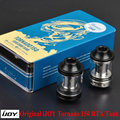 100% original ijoy tornado 150 rta tanque 4.2 ml capacidad 0.3ohm ohm sub 0.25ohm tanque rebuildable atomizador para el cigarrillo electrónico