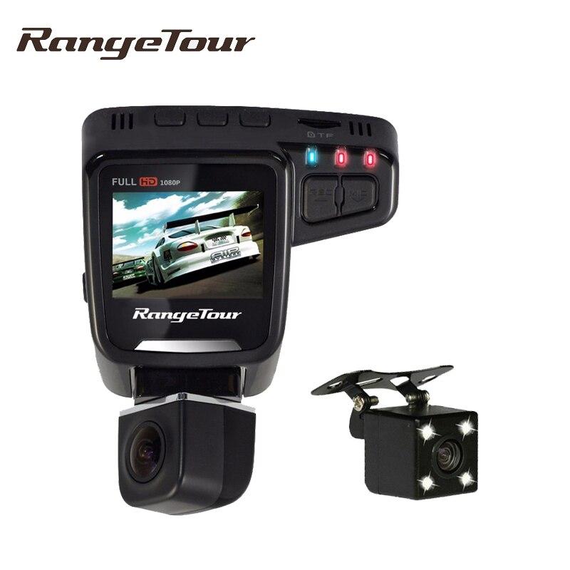 range tour auto car camera dual lens dvr video recorder full hd 1080p 360 rotatable 170 degree. Black Bedroom Furniture Sets. Home Design Ideas